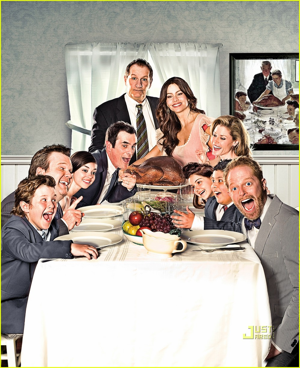 Modern Family Takes on Norman Rockwell